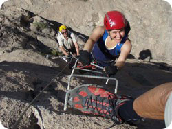 Via Ferrata at Villena